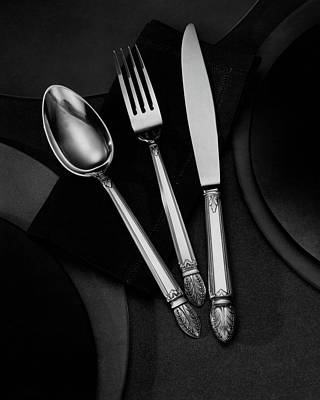 Tableware Photograph - A Silver Spoon by Martin Bruehl