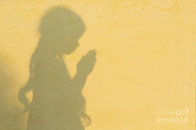 Child Photograph - A Simple Prayer by Tim Gainey