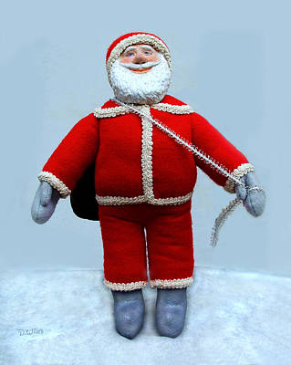 Sculpture - A Simple Santa by David Wiles