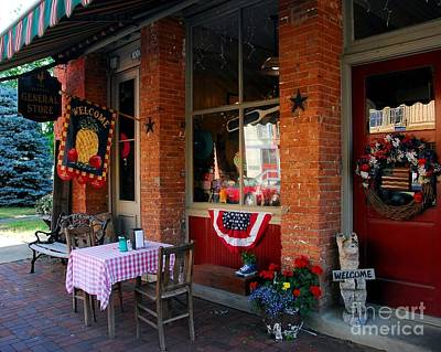 Small Town Life Photograph - A Simpler Life by Mel Steinhauer