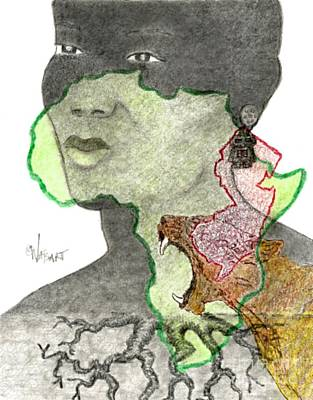 African American Jersey Girl Original
