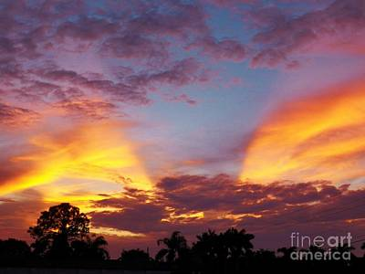 Photograph - A Sky Like No Other by Judy Via-Wolff