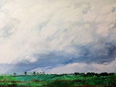 Painting - A Skyful Of.. by Aditi Bhatt