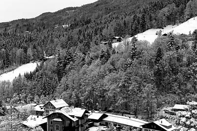 Photograph - A Slice Of The Alps by John Rizzuto