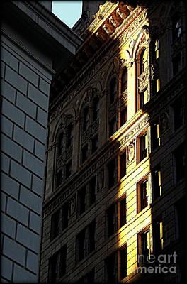 A Sliver Of Light In Manhattan Art Print by James Aiken