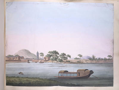 Illustration Technique Photograph - A Small Boat by British Library