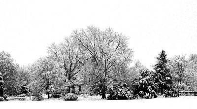 Photograph - A Snowy Day In December by Luther Fine Art