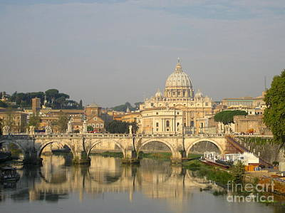Photograph - A Soft Morning In Rome by Suzanne Oesterling