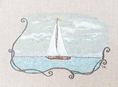 Pastel - A Soft Sail by Stephanie Callsen