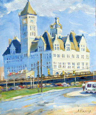 Nashville Architecture Painting - A Soldier's Homecoming by Sandra Harris