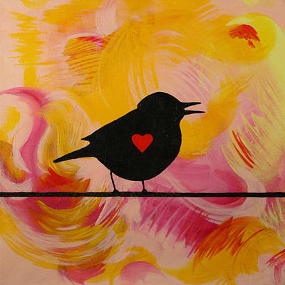 Painting - A Song In My Heart by Julianne Hunter