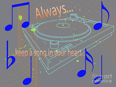 A Song In Your Heart Art Print