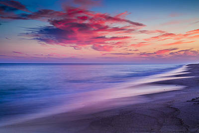 The Hamptons Photograph - Flying Point Sunset by Ryan Moore