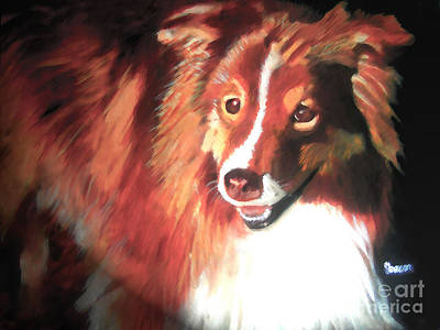 Painting - A Special Friend by Sharon Burger