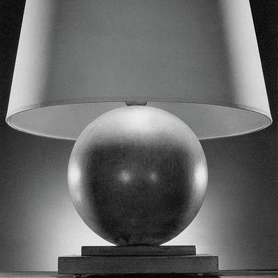 Lamp Photograph - A Spherical Lamp By Joseph Mullen by Peter Nyholm