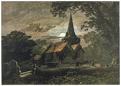 Country Church Drawings