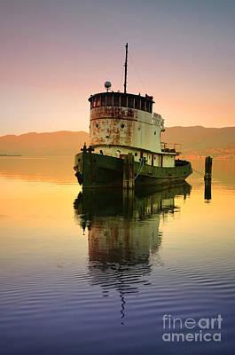 Okanagan Valley Photograph - A Spring Evening At The Lake by Tara Turner