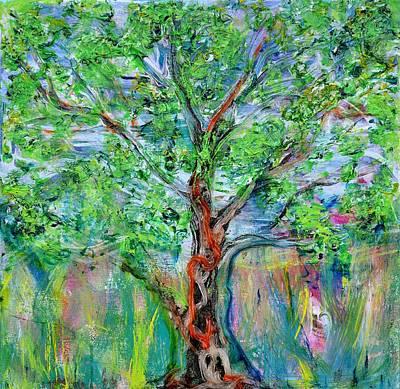 Painting - A Springy Notion by Regina Valluzzi