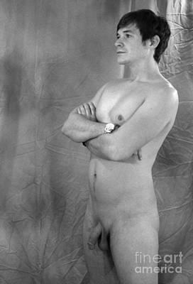Naturist Art Photograph - A Stand Up Guy by JM Denaut