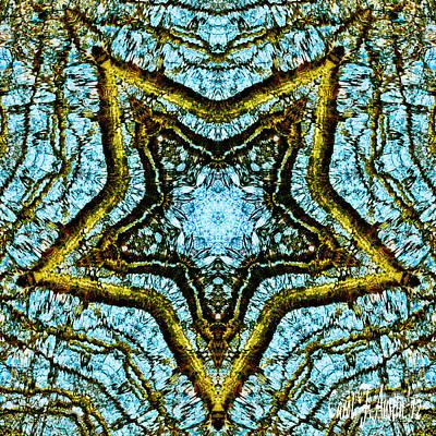 A Star Is Born - Kaleidoscope Abstract Design Art Print