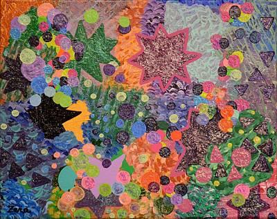 Painting - A Star Is Born by Sally Barnard