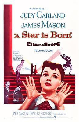 A Star Is Born, Us Poster Art, Judy Art Print
