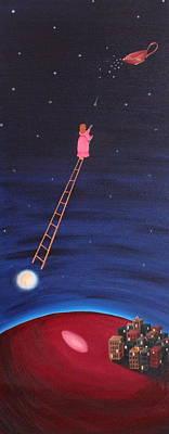 Painting - A Star by Margarita Gokun