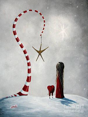 Candy Painting - A Starlit Wish By Shawna Erback by Shawna Erback