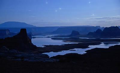 Photograph - A Starry Lake Powell Night  by Saija  Lehtonen