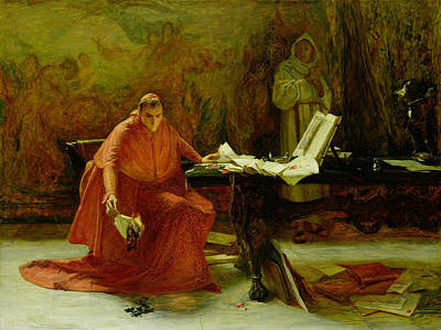 Destroying Painting - A State Secret, 1874 by John Pettie