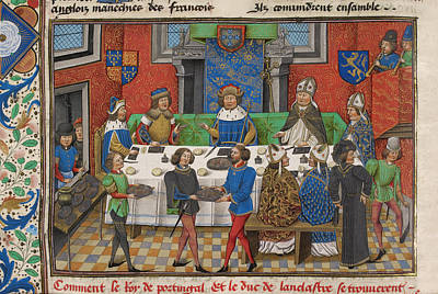 Banquet Photograph - A Stately Banquet by British Library