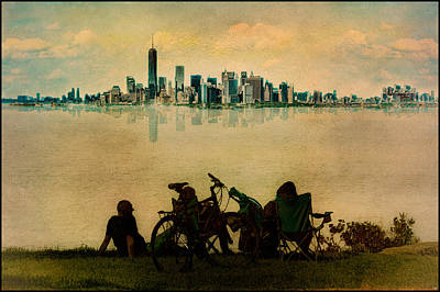 Photograph - A Staten Island Fantasy by Chris Lord