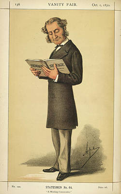 A Statesman Art Print by British Library