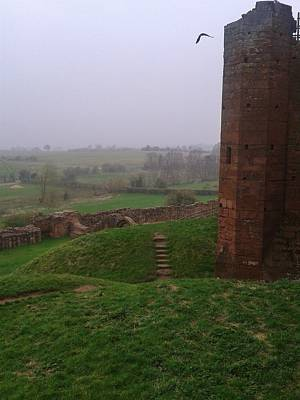 Kenilworth Castle Wall Art - Photograph - A Step Back In Time by Gav