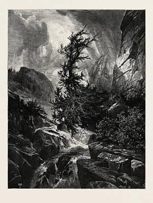 A Storm In Utah, Usa Art Print