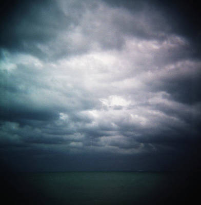 Cancun Photograph - A Stormy Ocean View Near Cancun, Mexico by Todd Korol