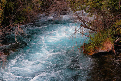 Photograph - A Stream In Blue by Christy Patino