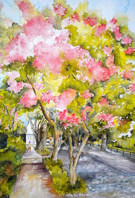 Painting - A Street In Charleston by Madie Horne
