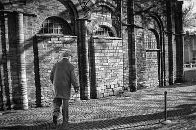 Philosophical Photograph - A Street Scene by Taylan Apukovska