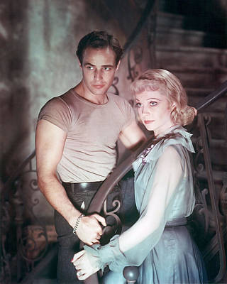 Brando Photograph - A Streetcar Named Desire  by Silver Screen