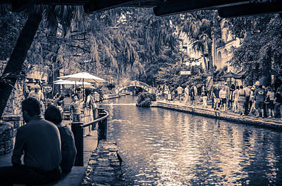 Photograph - A Stroll On The Riverwalk by David Morefield