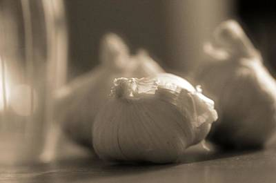 Photograph - A Study On Garlic by Dan Sproul