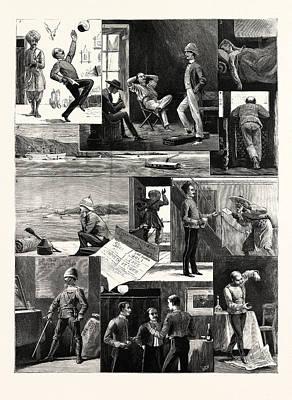 A Subalterns Experiences During The Recent Russian War Art Print