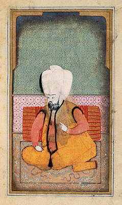 A Sultan Art Print by British Library