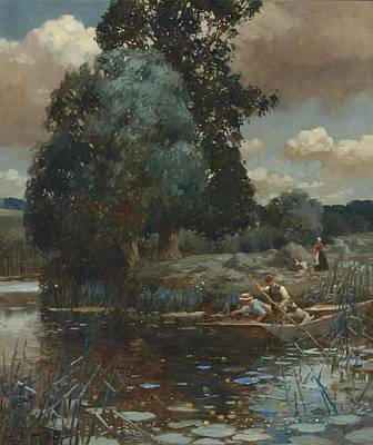 James Painting - A Summer Afternoon by Celestial Images