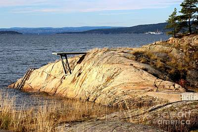 Photograph - A Summer Day By The Oslo Fjord by Jeanette Rode Dybdahl