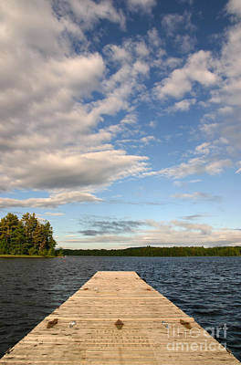Photograph - A Summer's Day On The Lake by Jeannette Hunt