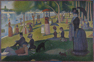 Jatte Painting - A Sunday On La Grande Jatte by Georges Seurat