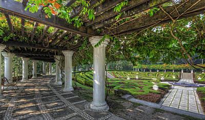 Photograph - A Sunken Garden by Mario Legaspi