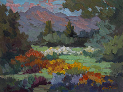 Painting - A Sunny Afternoon In Santa Barbara by Diane McClary